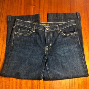 David Kahn cropped jeans